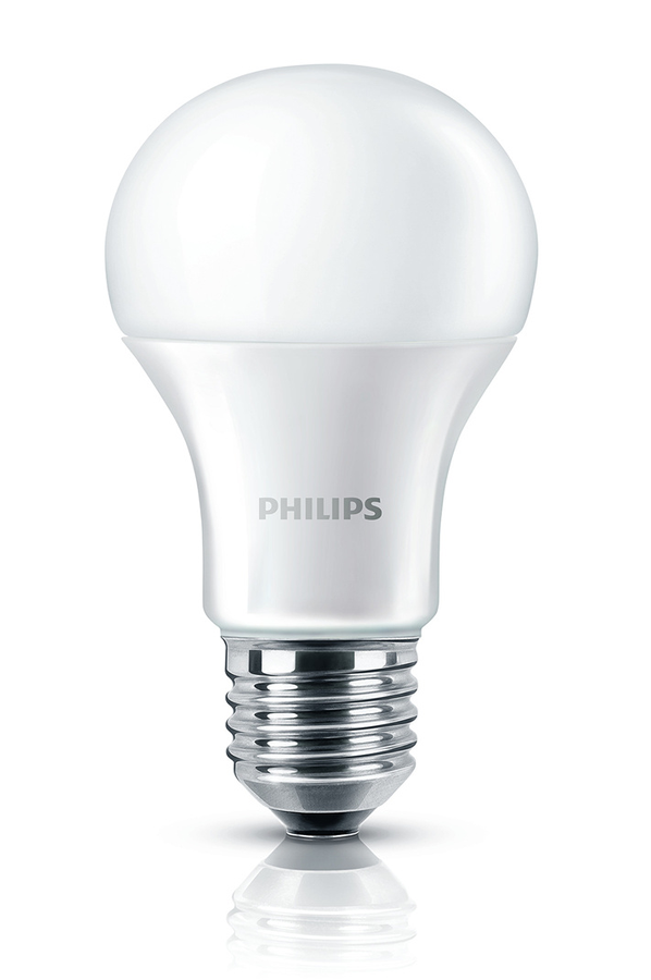 ampoule led philips pack bulb x2 e27 6w bulb e27 6w 4162692 darty. Black Bedroom Furniture Sets. Home Design Ideas