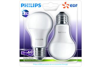 Ampoule LED BULB E27 9W X2 Philips