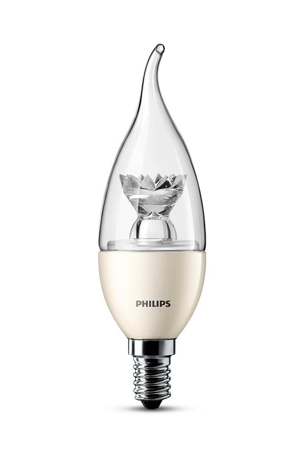 ampoule led philips flamme coup de vent 3w 25w culot e14 4022114 darty. Black Bedroom Furniture Sets. Home Design Ideas