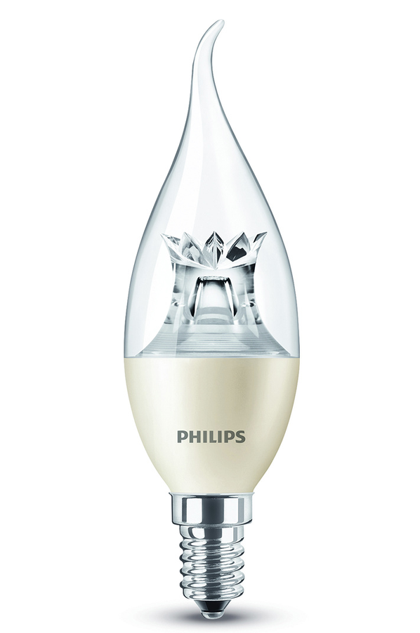 ampoule led philips flam cdv e14 4w f 4184114 darty. Black Bedroom Furniture Sets. Home Design Ideas