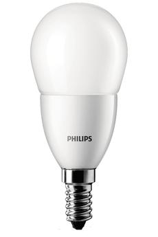 Ampoule LED SPHERIQUE - 3W (25W) - CULOT E14 Philips