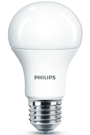 ampoule led philips standard 11w 75w culot e27 darty. Black Bedroom Furniture Sets. Home Design Ideas