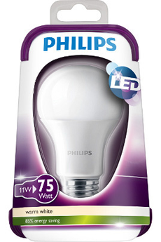 Ampoule LED STANDARD - 11W (75W) - CULOT E27 Philips