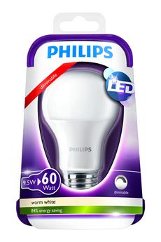Ampoule LED STANDARD DÉPOLIE - 9,5W (60W) - CULOT E27 Philips