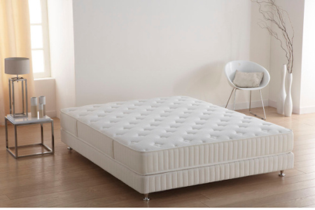 matelas simmons no flip 140x190 cm darty. Black Bedroom Furniture Sets. Home Design Ideas