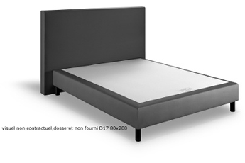 Sommier D17 80X200 TAUPE D.s.t