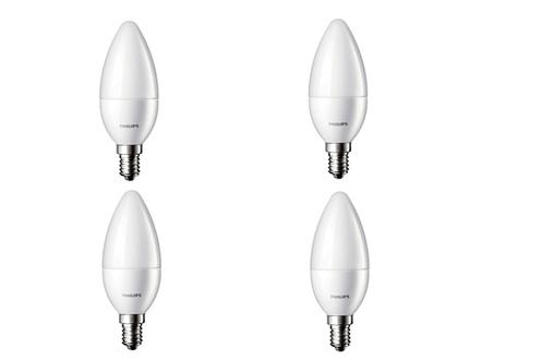 Ampoule LED Philips FLAMME 3W CULOT E14 x4
