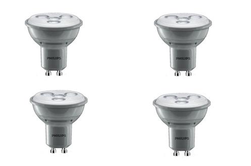 Ampoule LED Philips SPOT GU10 - 4W x4