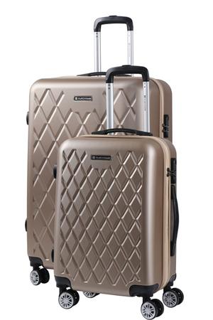 grande vente 02b95 f5c5f Set de 2 valises Cabine + Soute BEIGE