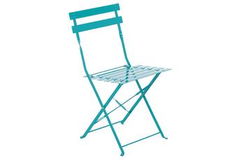 Chaise et fauteuil de jardin Hesperide Chaise de jardin Pliable CAMARGUE BLEU LAGON