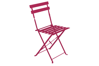 Chaise et fauteuil de jardin Hesperide Chaise de jardin Pliable CAMARGUE FRAMBOISE