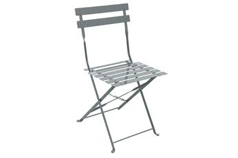 Chaise et fauteuil de jardin Hesperide Chaise de jardin Pliable CAMARGUE GRAPHITE