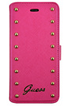 ETUI FOLIO ROSE POUR IPHONE 6 Guess