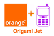 ORANGE ORIGAMI JET - International avec mobile nu
