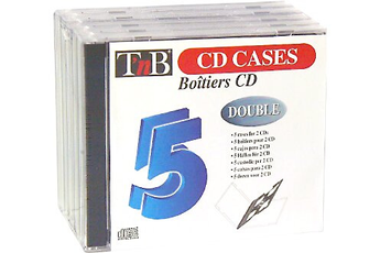 Rangement CD / DVD CDD 5 Tnb