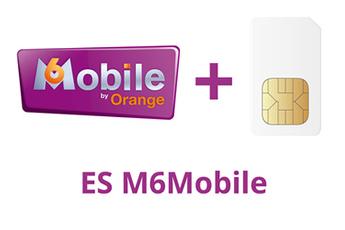 Forfait SIM seule Edition spéciale M6 Mobile 2h - 1Go ORANGE