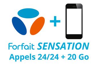Forfait Forfait SENSATION 24/24 - 40Go Bouygues Telecom