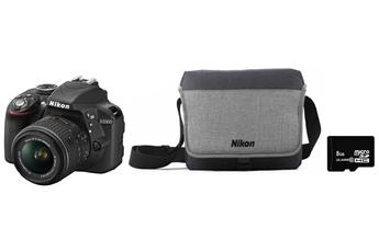 Reflex D3300 + 18-55 VRII + FOURRE TOUT + SD 8Go Nikon