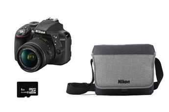 Reflex D3300+18-55VR+FT+8GO Nikon