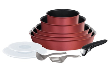 Poele / sauteuse INGENIO PERFORMANCE ROUGE 10 PIECES Tefal