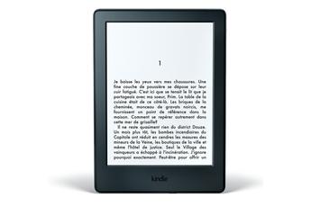 Liseuse eBook NOIR WIFI 4 GO NOUVELLE GENERATION Kindle