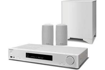 Pack Ampli + enceintes LS5200 WHITE Onkyo