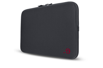 """Sacoche pour ordinateur portable Housse La Robe graphite et bordeaux pour MacBook Air/Pro 13"""" ou PC 13"""" Be.ez"""