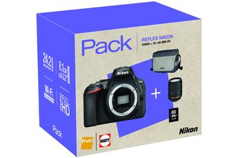Reflex D5600 + 18-140mm VR + HOUSSE + CARTE 8GO Nikon