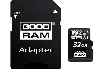 GOODRAM MICRO SDHC 32 GB CL 10 UHS1 + ADAPTATEUR Goodram