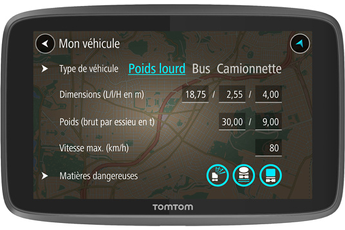 GPS GO 6200 PROFESSIONAL Tomtom