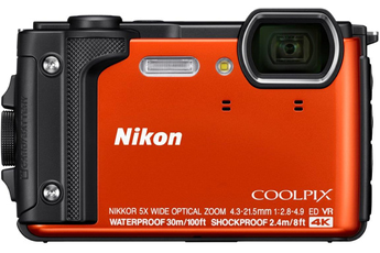 Appareil photo compact COOLPIX W300 ORANGE Nikon