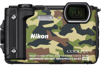 Appareil photo compact COOLPIX W300 CAMOUFLAGE Nikon