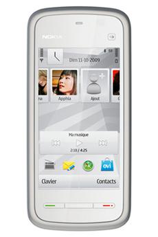 Smartphone 5230 BLANC/ARGENT Nokia