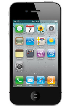 Pack opérateur iPhone IPHONE 4S 16GO NOIR Apple