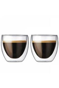 Autre accessoire café et thé SET VERRES 8CL Bodum