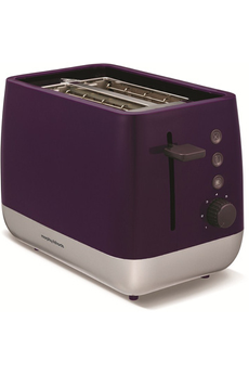 Grille pain M221108E CHROMA Aubergine Morphy Richards
