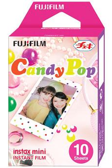 Autre accessoire photo FILM INSTAX MINI MONOPACK CANDY POP Fujifilm
