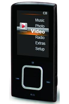 Lecteur audio vidéo MP3-MP4 M340 8GO NOIR D-jix