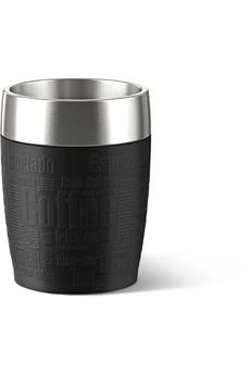 Mug isotherme TRAVEL CUP 0,2L INOX/NOIR Emsa