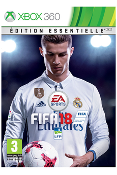 Jeux Xbox 360 FIFA 18 EDITION ESSENTIELLE XBOX ONE Electronic Arts