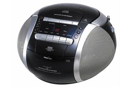 radio cd radio k7 cd proline cd 355 darty. Black Bedroom Furniture Sets. Home Design Ideas