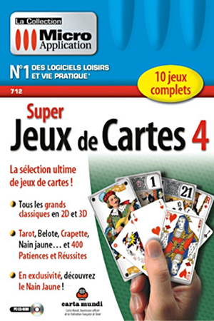 Visite Edition Classic Beautiful Amazon Logiciels Of Jeux PC Et Mac Micro Application SUPER JEUX DE CARTES 4