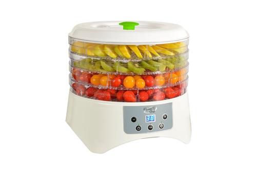 Déshydrateur d'aliments 5 plateaux - Surface de séchage de 3450 cm² Ecran LCD - Timer 12 heures 4 températures de 38 à 65°C