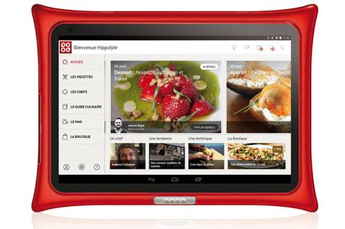 Tablette de cuisine Androïd Contient + de 3000 recettes & techniques exclusives Usage multimédia: internet, musique, vidéo... Découvrez la vidéo : Cliquez ici