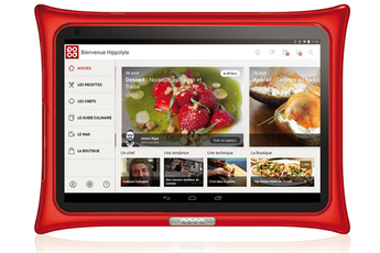 Tablette culinaire Qooq TABLETTE V4 ROUGE