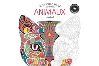 Livre beauté, santé, forme ART-THERAPIE COLORIAGE ANIMAUX Marabout