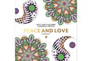 Livre beauté, santé, forme Marabout COLORIAGE PEACE AND LOVE