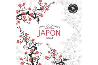Livre beauté, santé, forme ART-THERAPIE COLORIAGES JAPON Marabout