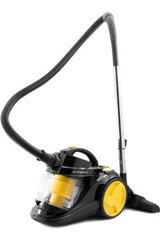 Aspirateur sans sac SKOOP BLACK YELLOW Harper