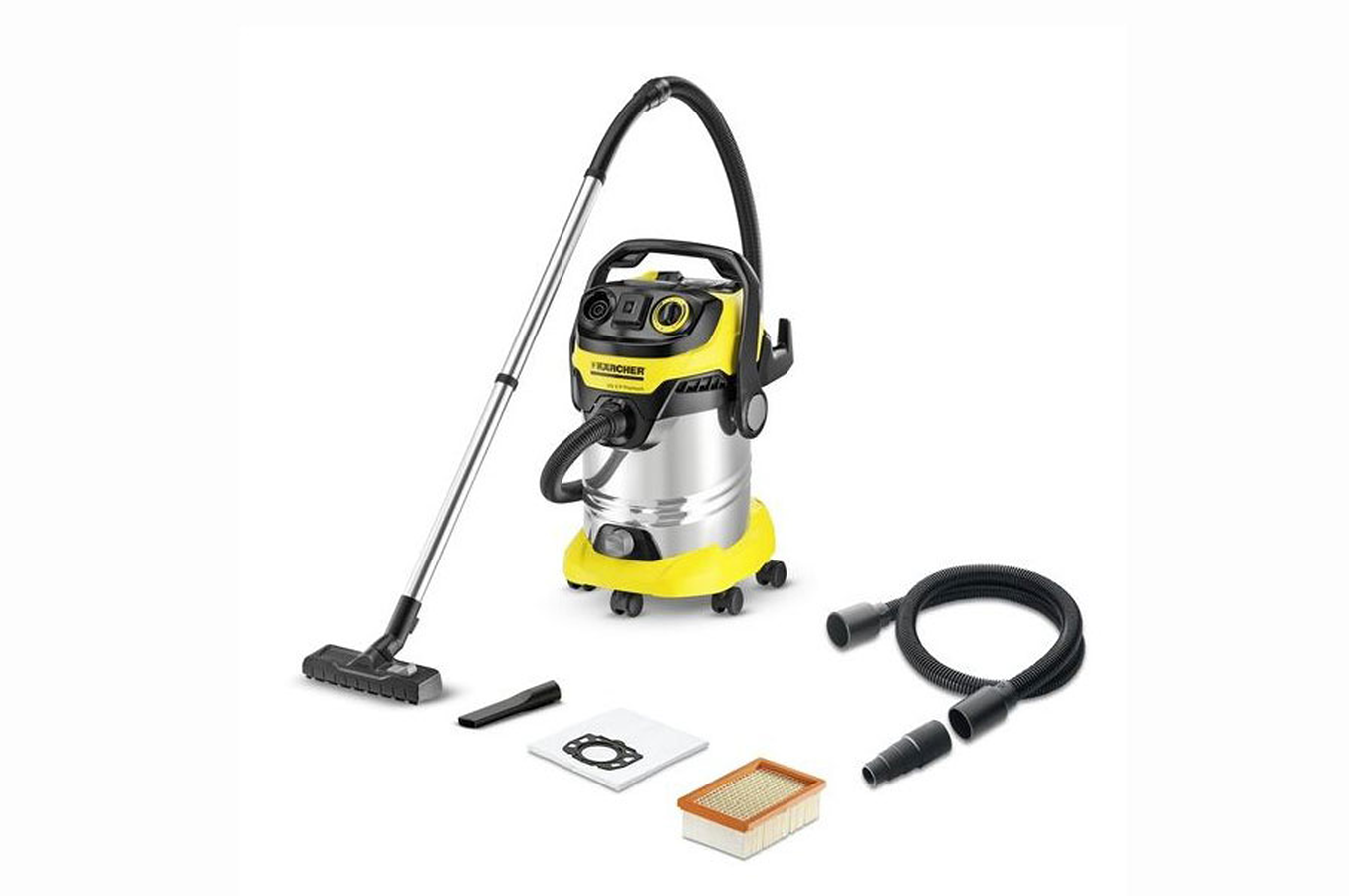 aspirateur eau et poussiere karcher wd 6 p premium 3851443 darty. Black Bedroom Furniture Sets. Home Design Ideas